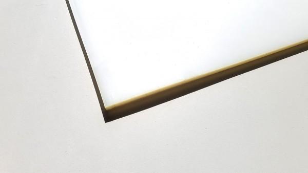 OP Zuschneideplatte weiß 6mm